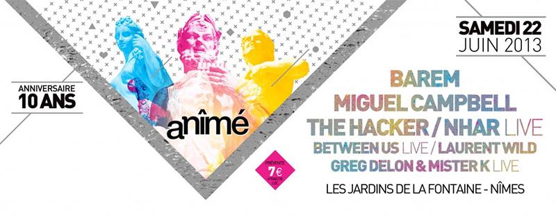 Festival electro nimes 2013 agenda villa ragazzi - Chambre d hote gay montpellier ...