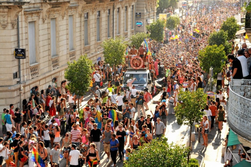 Gay pride 2017 à Montpellier