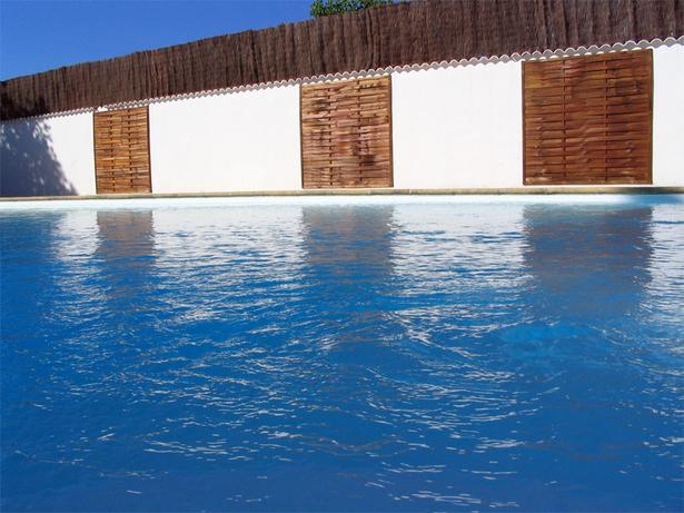 La piscine est terminée !