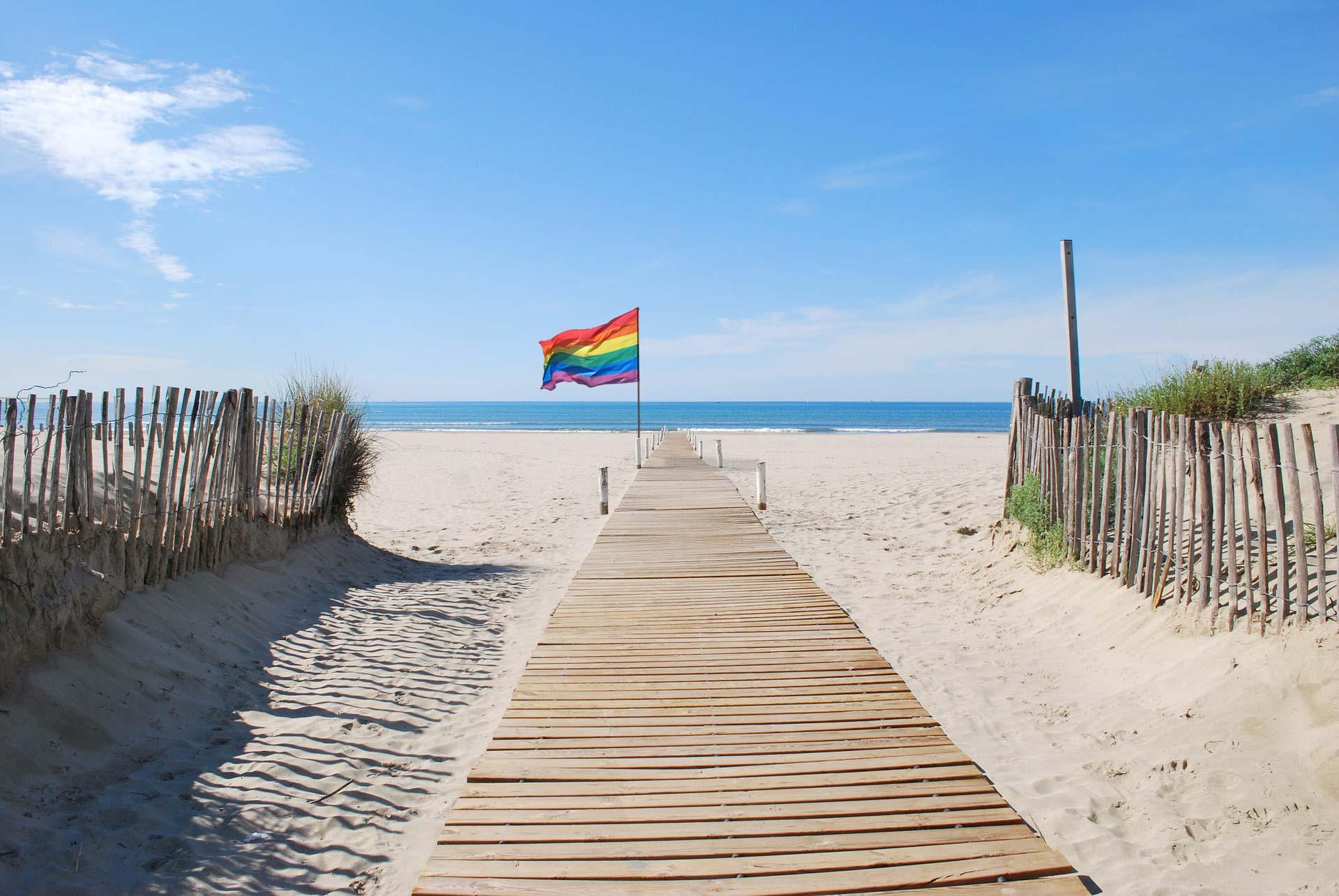 La plage gay de l'Espiguette