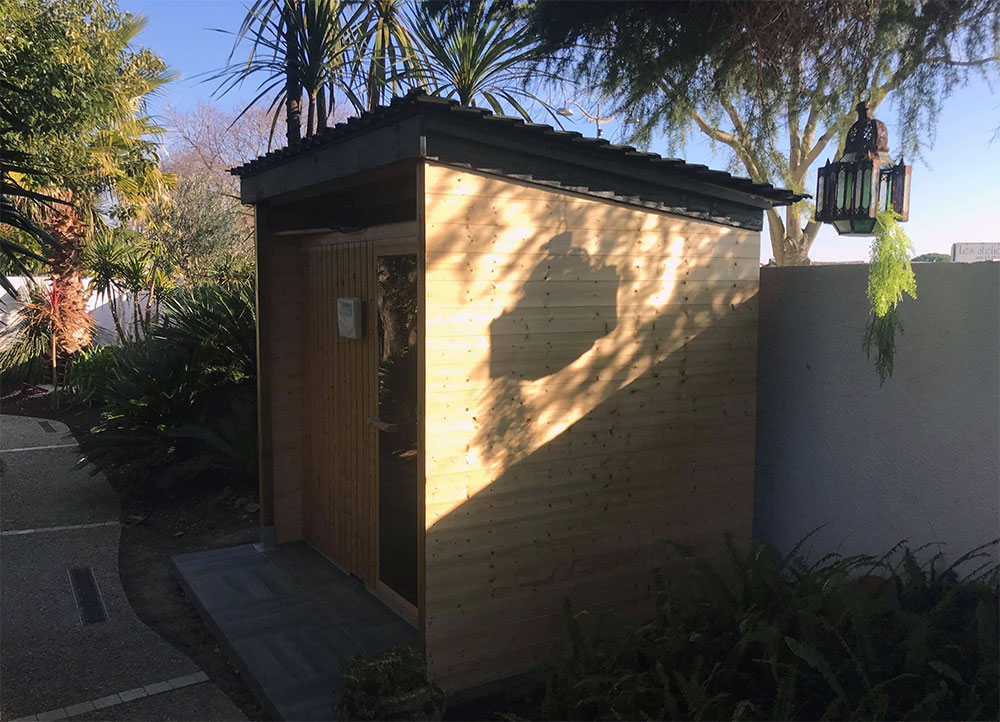 Sauna et jacuzzi