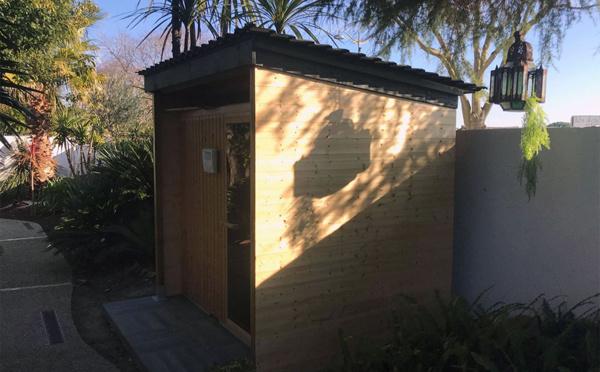 Nouveauté 2020 : un sauna